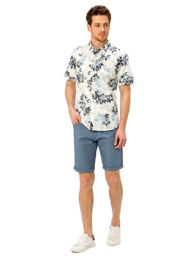 LC Waikiki Şort Mavi